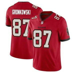 Buccaneers Rob Gronkowski Red Jersey